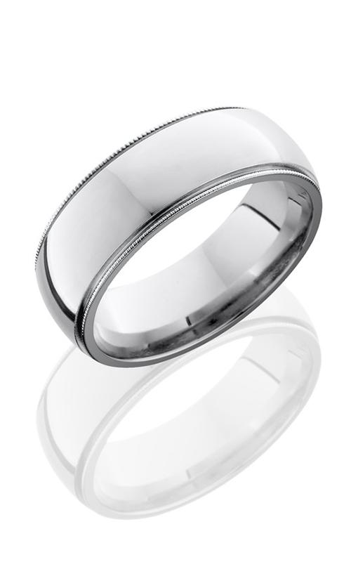 Lashbrook Cobalt Chrome Wedding band CC8D2MIL POLISH product image