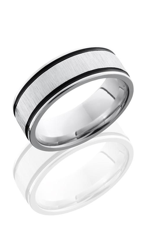 Lashbrook Cobalt Chrome Wedding band CC8FEC21WA CROSS SATIN-POLISH product image
