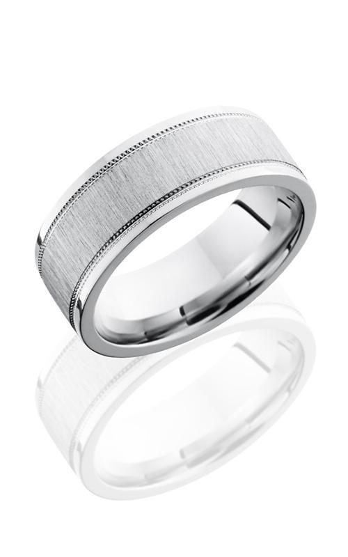Lashbrook Cobalt Chrome Wedding band CC8FEC2WUMIL CROSS SATIN product image