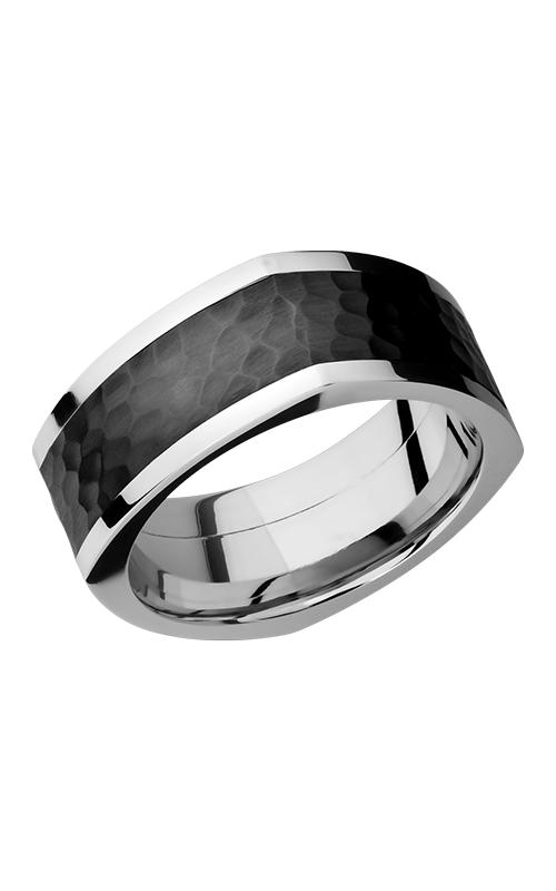 Lashbrook Cobalt Chrome Wedding band CCPF9FSQ16-Z HAMMER-POLISH product image