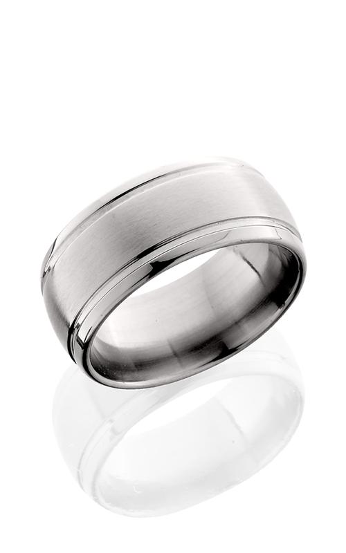 Lashbrook Titanium Wedding band 10D21W Satin Polish product image