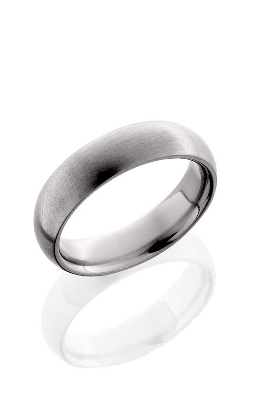 Lashbrook Titanium Wedding band 6D SATIN product image