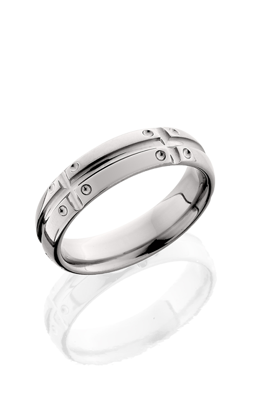 Lashbrook Titanium Wedding band 6D11V5SEGD POLISH product image