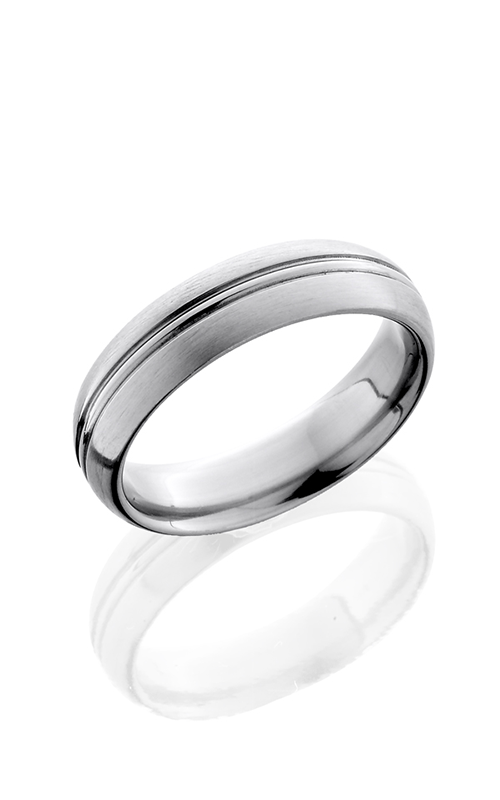 Lashbrook Titanium Wedding band 6HRCP SATIN product image