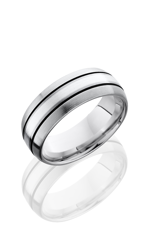 Lashbrook Titanium Wedding band 8D12A SS SATIN product image