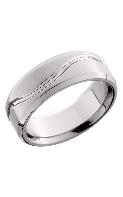 Lashbrook Titanium Wedding band 8FB011 POLISH SATIN product image