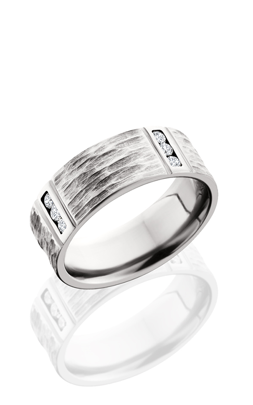 Lashbrook Titanium Wedding band 8FM4VLCHANNELDIA TBH POLISH product image