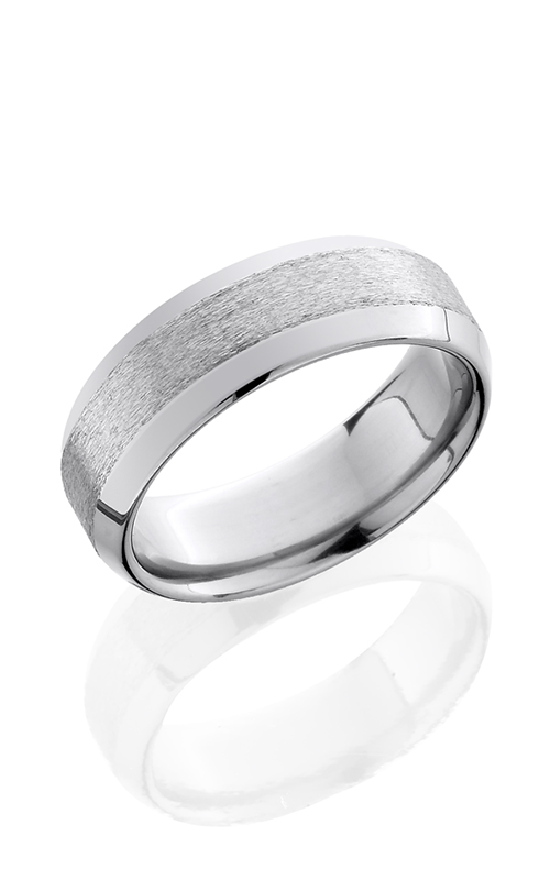 Lashbrook Titanium Wedding band 8WB STONE POLISH product image