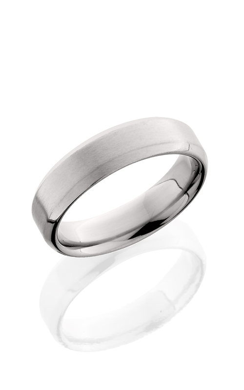 Lashbrook Titanium Wedding band 6B SATIN ALL product image