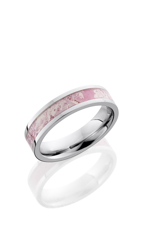 Lashbrook Cobalt Chrome Wedding band CC5F13 KINGSPINK product image