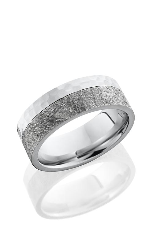 Lashbrook Cobalt Chrome Wedding band CC8F15EDGE METEORITE product image