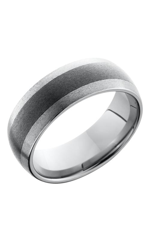 Lashbrook Tungsten Ceramic Wedding band TCR8349-STONE product image