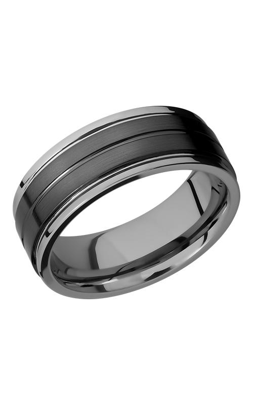 Lashbrook Tungsten Ceramic Wedding band TCR8422-SATIN product image