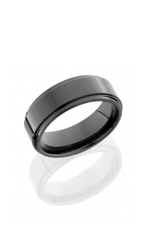Lashbrook Tungsten Ceramic Wedding band C08RC015-POLISH product image
