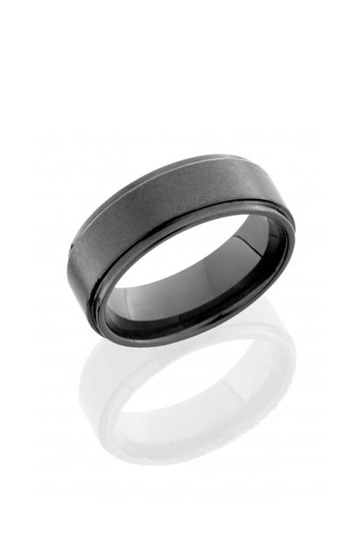 Lashbrook Tungsten Ceramic Wedding band C08RC015-SATIN product image