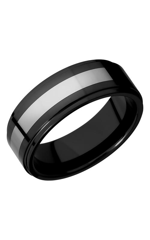 Lashbrook Tungsten Ceramic Wedding band CT08RC048-POLISH product image