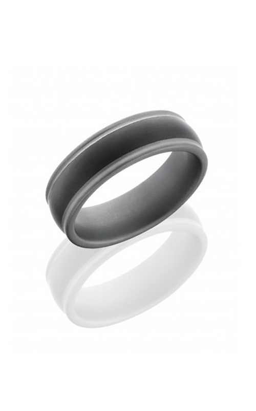 Lashbrook Tungsten Ceramic Wedding band CT07HR147-SANDBLAST product image