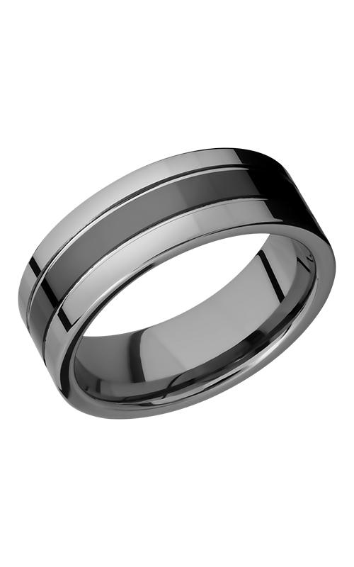 Lashbrook Tungsten Ceramic Wedding band CT08P145 product image