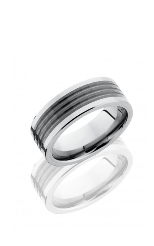 Lashbrook Tungsten Ceramic Men's Wedding Band TCR8449 product image