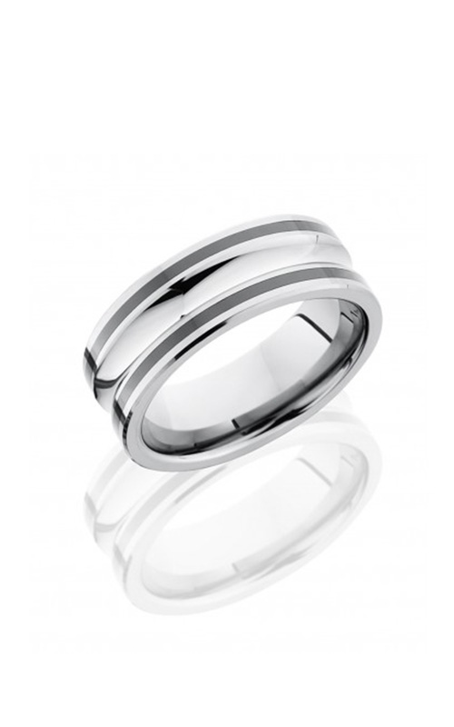 Lashbrook Tungsten Ceramic Men's Wedding Band TCR8328 product image