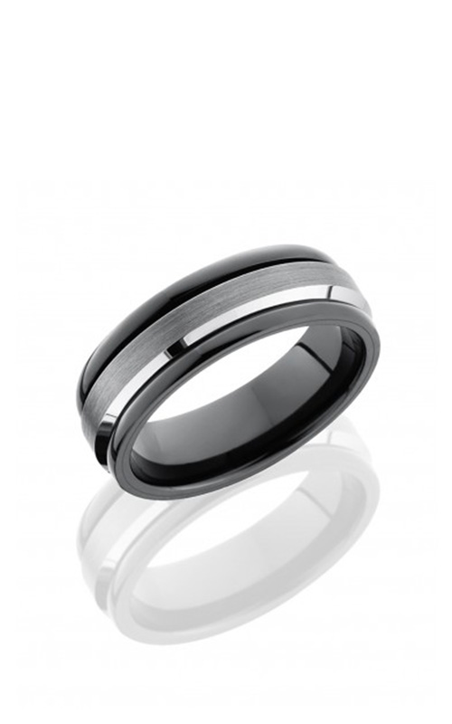 Lashbrook Tungsten Ceramic Men's Wedding Band TCR9091 product image