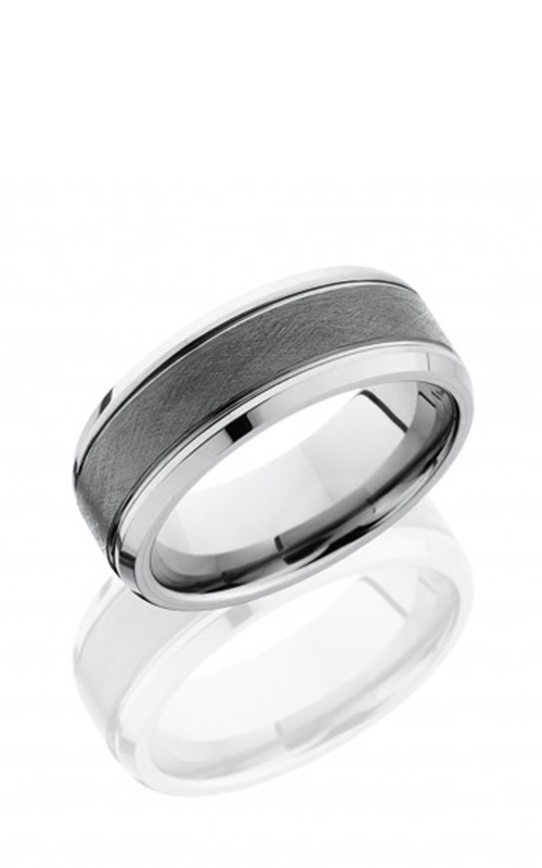 Lashbrook Tungsten Ceramic Wedding band TCR9090 product image