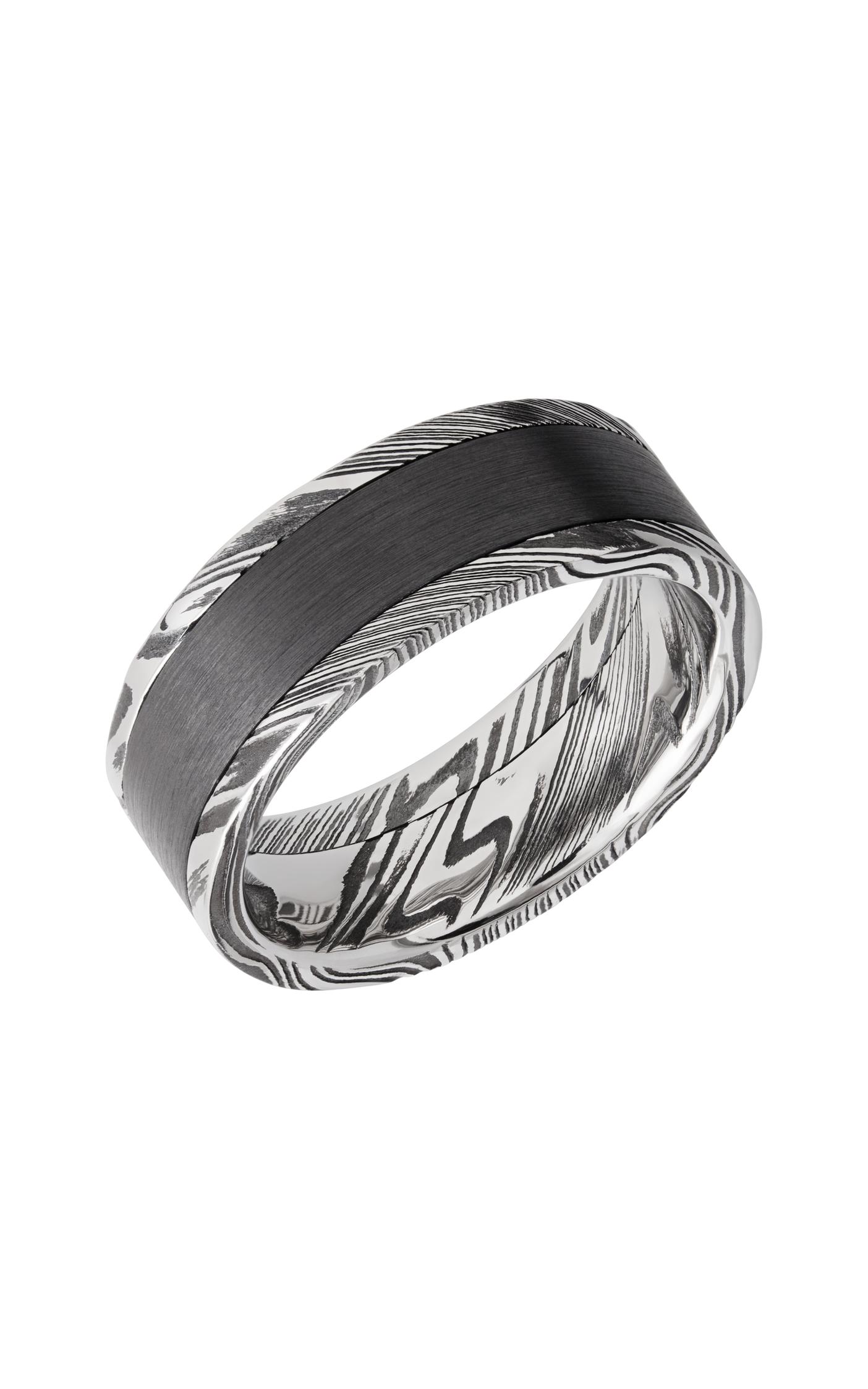 Lashbrook Damascus Steel DPF8F15WOODGRAIN_ZIRCONIUM product image
