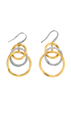 Marco Bicego Jaipur Diamond Link Earrings OB1004 B YW product image