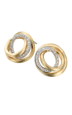 Marco Bicego Jaipur Diamond Link Earrings OB1007 B YW product image