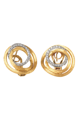 Marco Bicego Jaipur Diamond Link Earrings OB1008 B YW product image