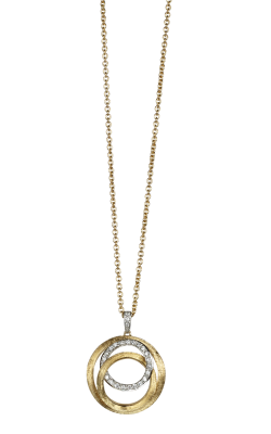 Marco Bicego Diamond Link Necklace CB1672-B-YW product image