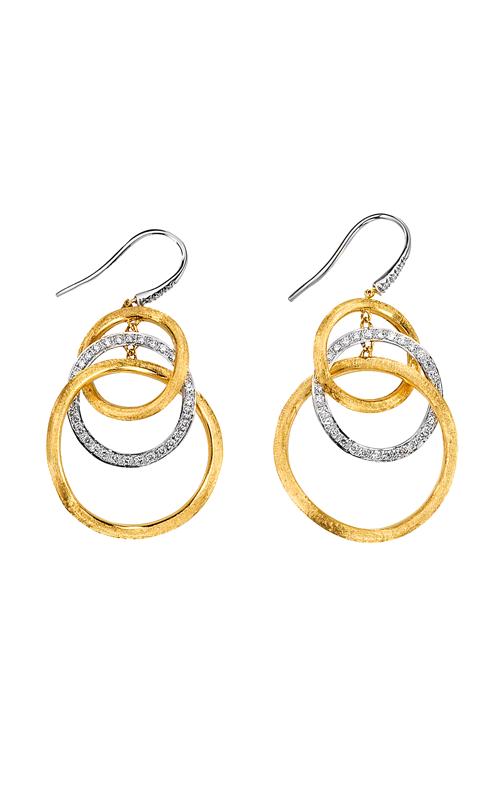 Marco Bicego Jaipur Diamond Link Earrings OB1004 B YW product image