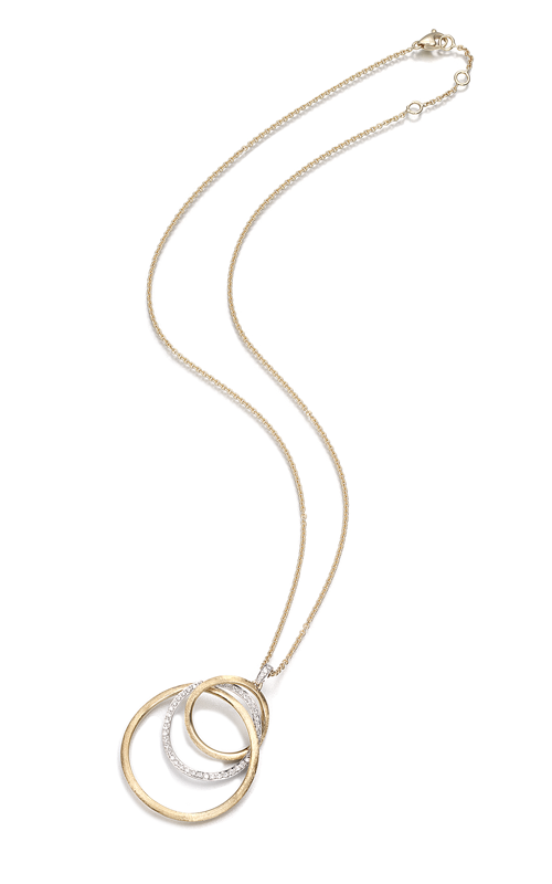 Marco Bicego Jaipur Color Diamond Link Necklace CB1404 B YW product image