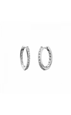 Memoire Diamond Hoops MRHE14W product image