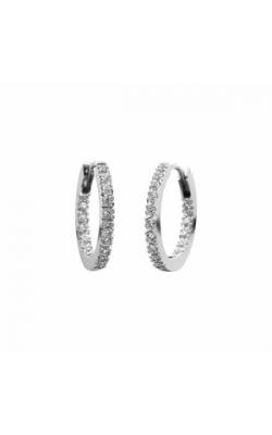Memoire Diamond Hoops MOHE14W product image