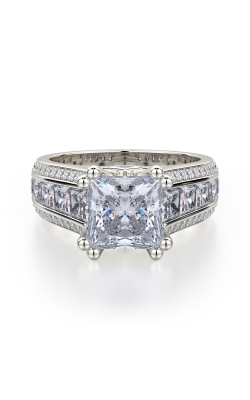 Michael M Princesse Engagement ring R401-2 product image