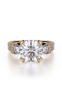 Michael M Trinity Engagement ring R475-2 product image