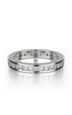 Michael M Princess Wedding Band R431BF product image
