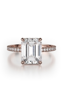 Michael M Crown Engagement ring R715-2EM product image