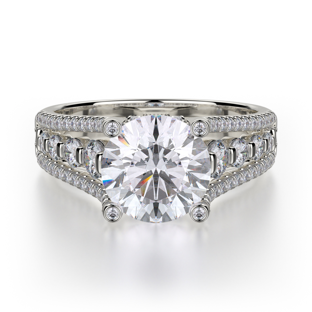 Michael M Stella Engagement ring R306S-1.5 product image