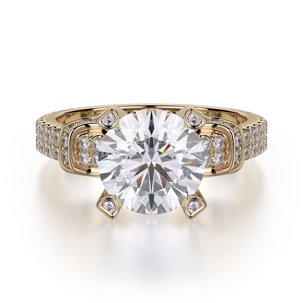 Michael M Europa Engagement ring R674-2 product image