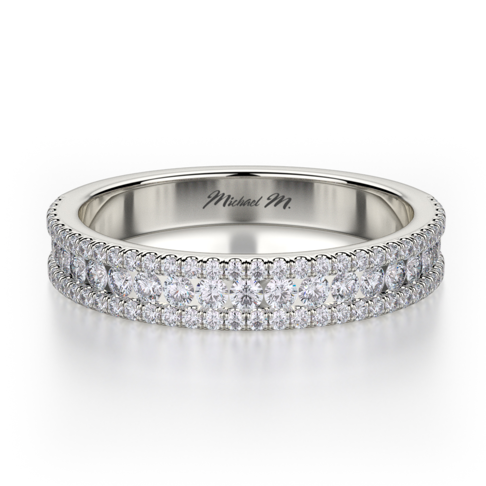 Michael M Europa Wedding band R396BS product image