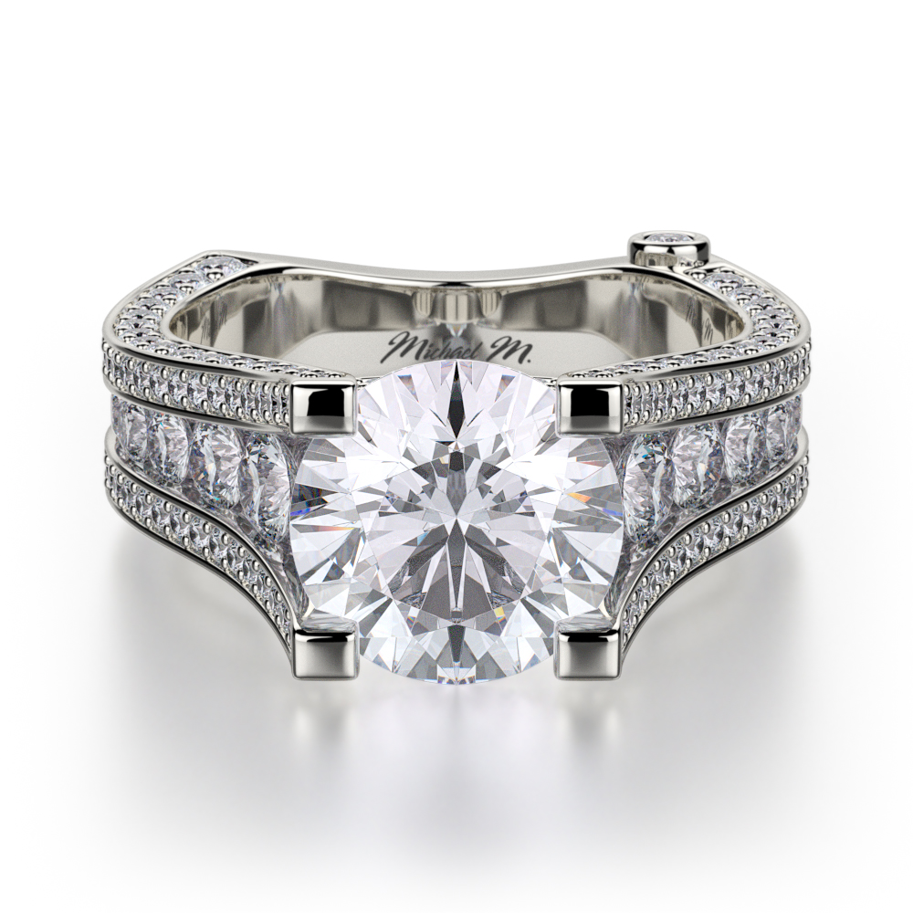 Browse Michael M R302-2 Engagement rings | Midtown Jewelers