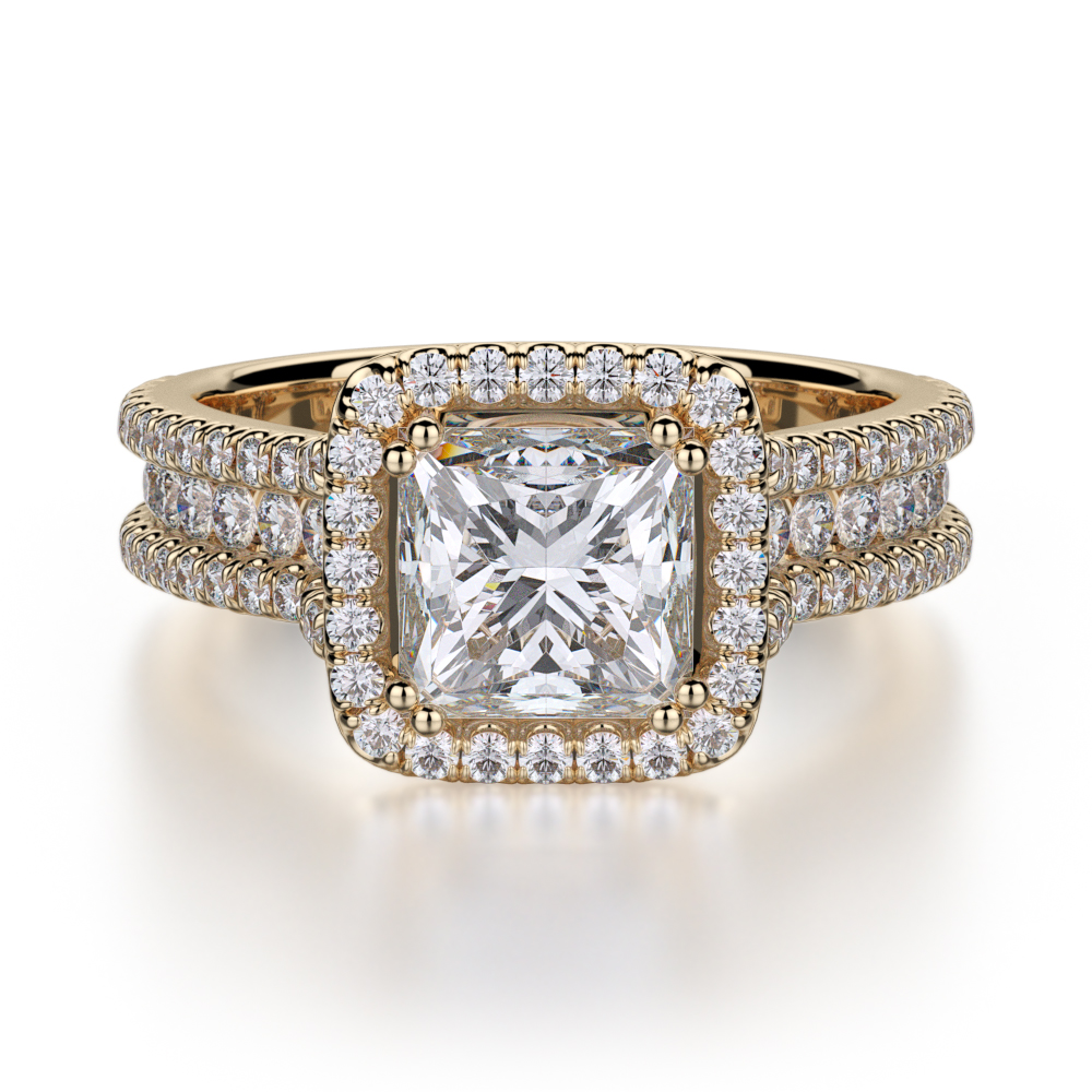 Michael M Princesse Engagement ring R466-2 product image