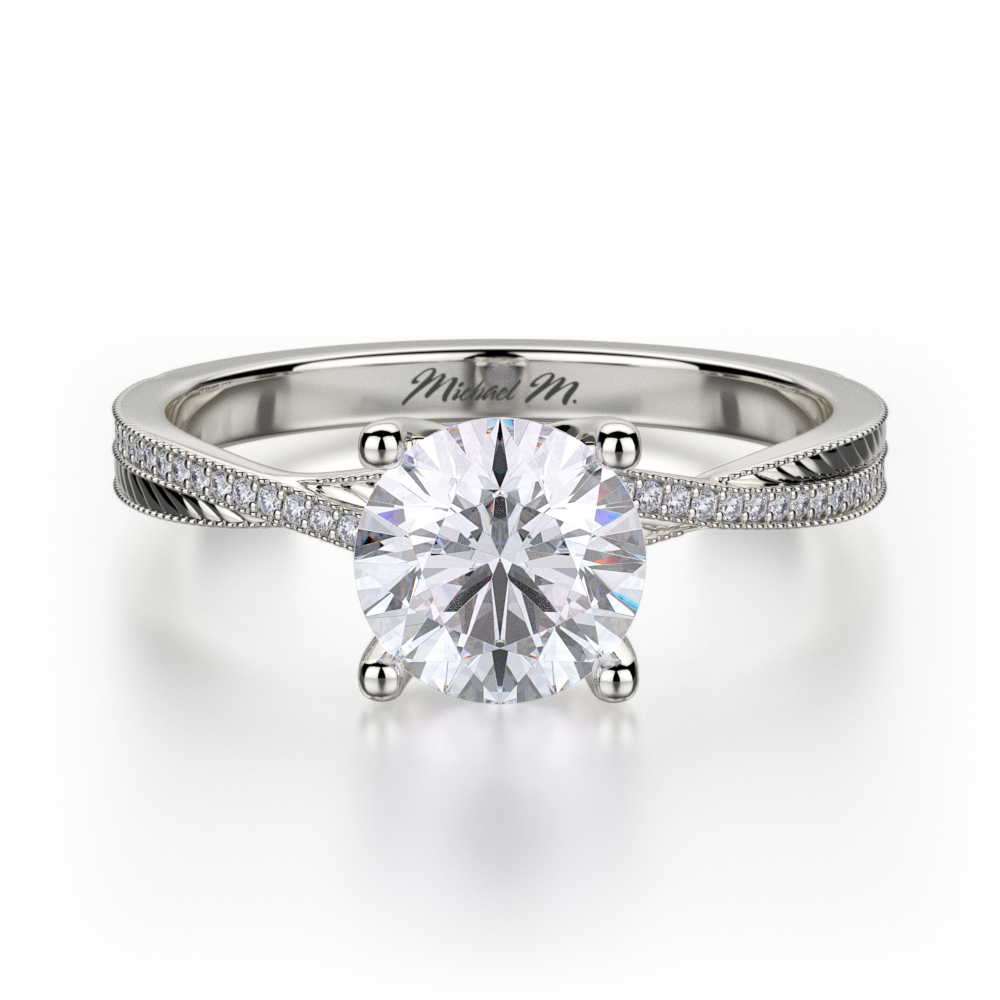 Find Michael M R575-1 Engagement rings | Midtown Jewelers