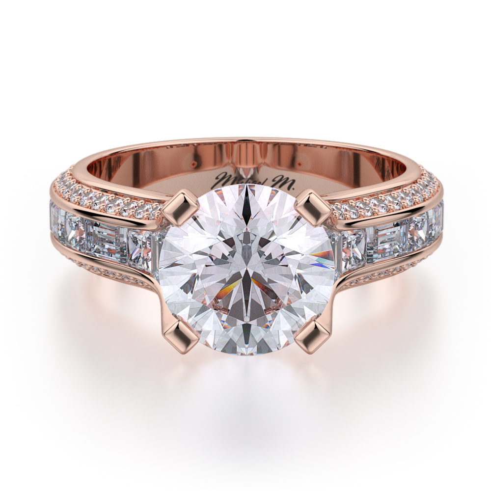 Michael M Stella Engagement ring R690-2 product image