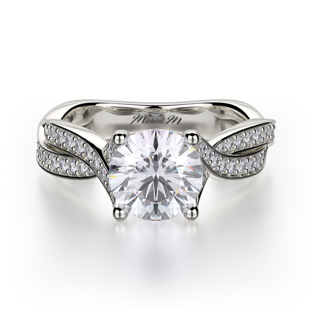 Shop Michael M R709-1.25 Engagement rings | Midtown Jewelers