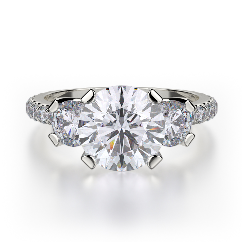 Find Michael M R422-2 Engagement rings | Midtown Jewelers