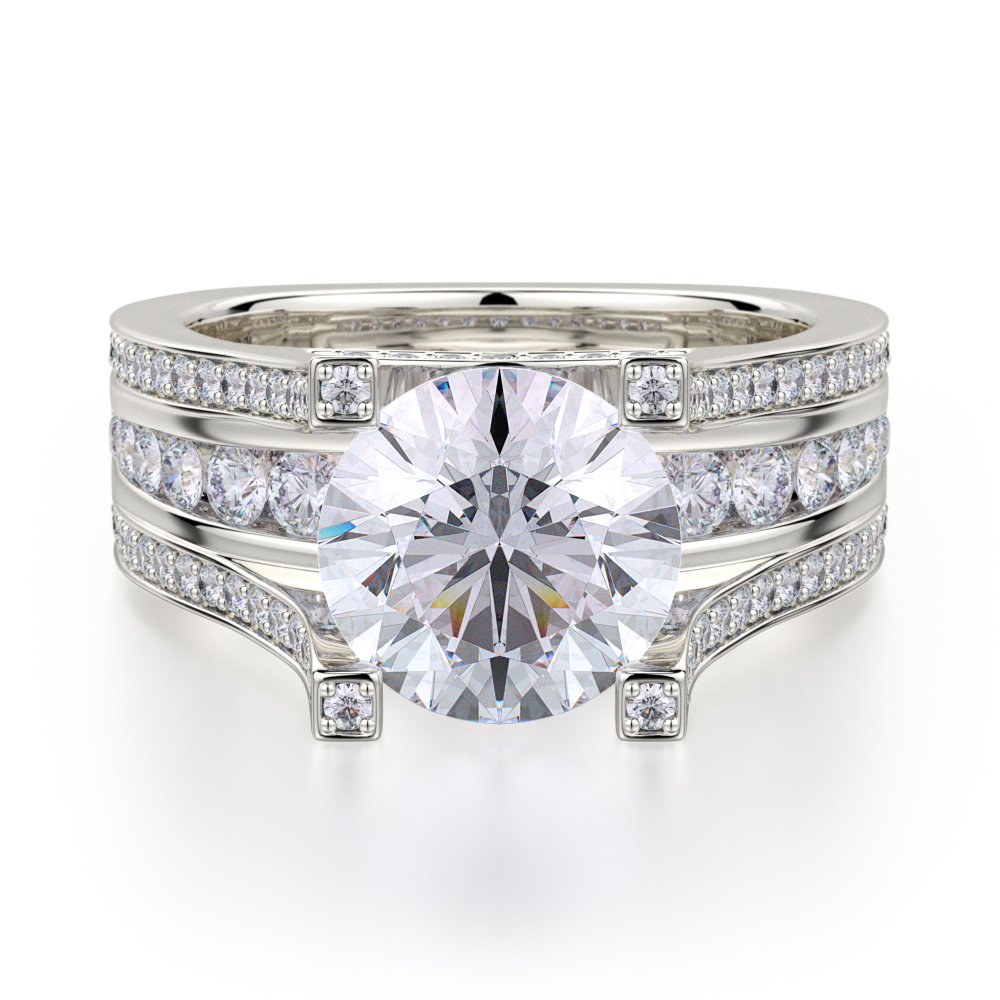 Michael M Stella Engagement ring R410-2 product image
