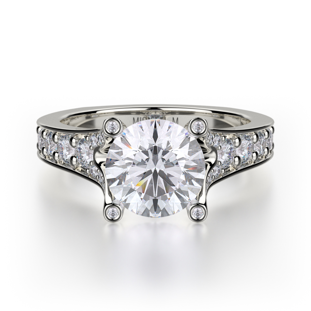 Michael M Trinity Engagement ring R507-1 product image